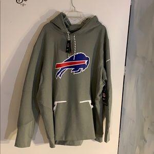 NWT men's buffalo bills Nike sweatshirt